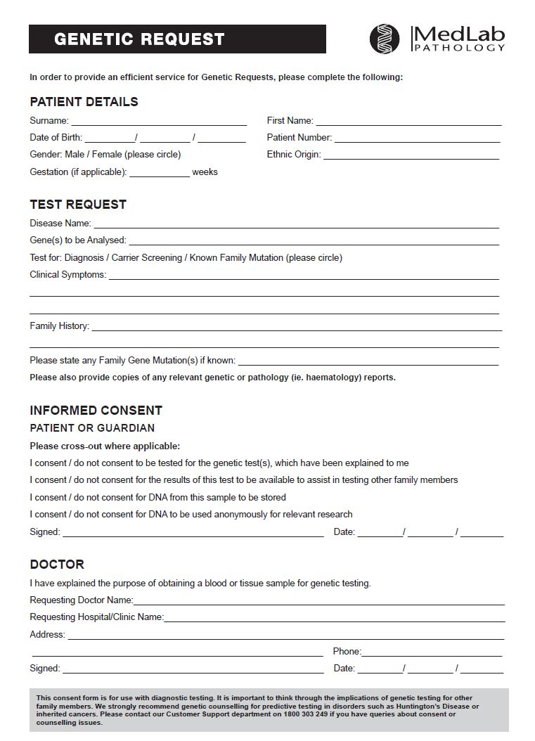 MLP General Request Form